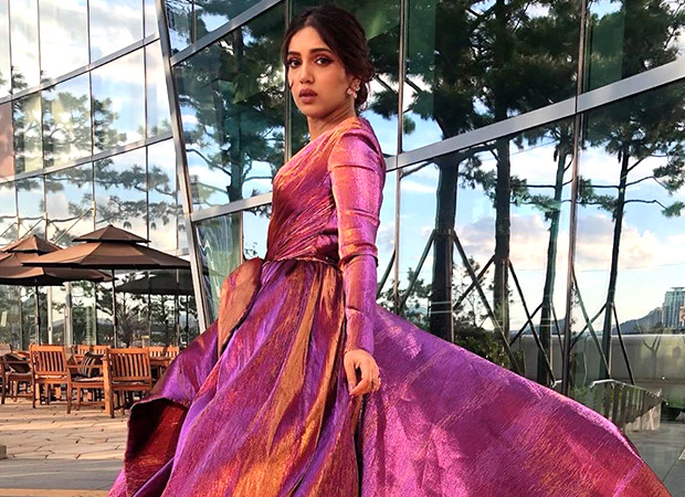 Bhumi Pednekar looks aesthetic in her chrome-hued gown by Ali Younes Couture