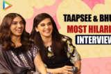Bhumi & Taapsee Ka Hungama Hilarious Rapid Fire & 5 Second Challenge Saand Ki Aankh