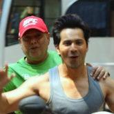Coolie No 1: Father - son duo David Dhawan and Varun Dhawan enjoy morning scooty ride