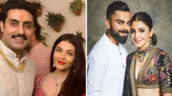 Diwali 2019: Aishwarya Rai Bachchan, Abhishek Bachchan, Anushka Sharma, Virat Kohli light up Amitabh Bachchan's bash