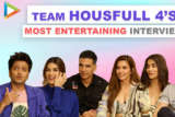 FUN UNLIMITED Team Housefull 4 Interview Crazy Rapid Fire, Hilarious Quiz & 5 Second Challenge