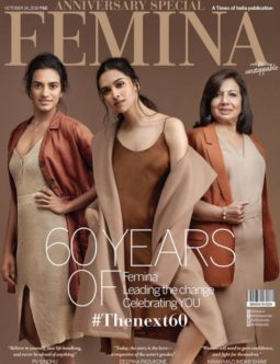 Deepika Padukone On The Covers Of Femina
