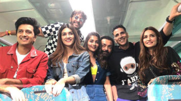 Housefull 4 From Bala challenge to antakshari, pyjama party to housie, Akshay Kumar's train journey is absolutely LIT!