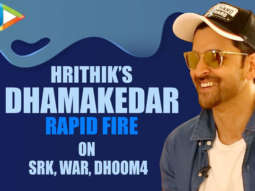 "Hrithik Roshan On DHOOM-4 ""I'd Love To Play Aryan Once More, It'd be INCREDIBLE"" WAR Rapid Fire"