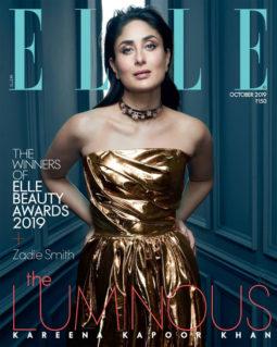 Kareena Kapoor On The Cover Of Elle