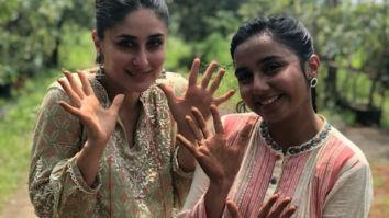Kareena Kapoor Khan and Prajakta Koli get their hands in the mud for an upcoming collaboration