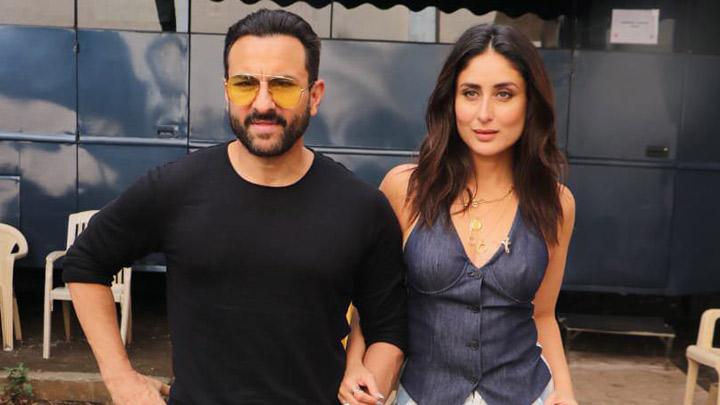 Kareena Kapoor Khan and Saif Ali Khan spotted at Mehboob Studios ...