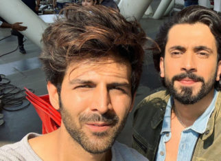 Kartik Aaryan promotes Sunny Singh's Ujda Chaman in the best way possible!
