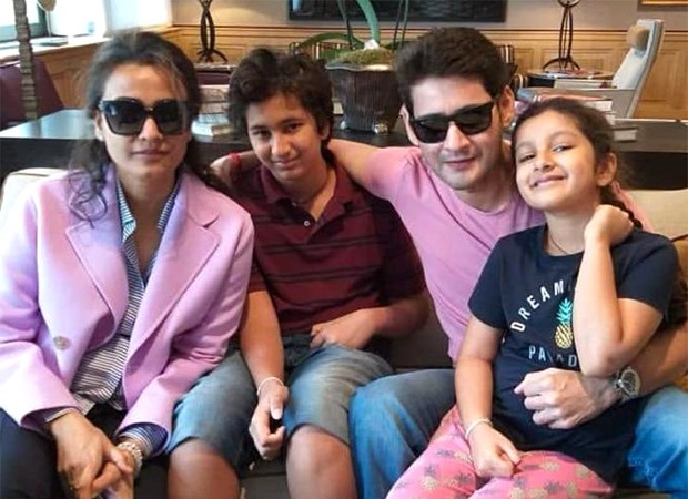 Mahesh Babu and Namrata Shirodkar to feature in commercial with their kids during Diwali