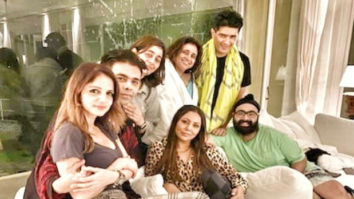 PICTURES Gauri Khan is all smiles with Karan Johar, Sussanne Khan, Manish Malhotra as they party at Shah Rukh Khan's Alibaug home