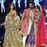 Pati Patni Aur Woh trio Kartik Aaryan, Ananya Panday, Bhumi Pednekar stun in exquisite wedding line