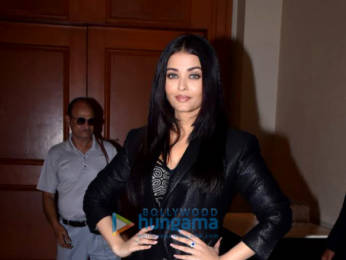 Photos: Aishwarya Rai Bachchan snapped attending the Maleficent: Mistress of Evil trailer launch event