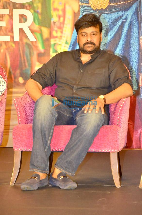 Photos Chiranjeevi and Ravi Kishan grace the success meet of 'Syeraa Narasimha Reddy' (5)