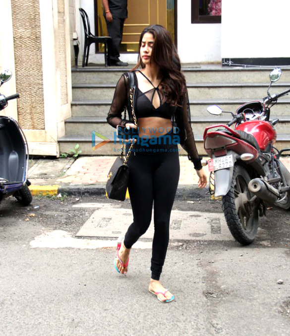 Photos: Janhvi Kapoor spotted at Manish Malhotra's store