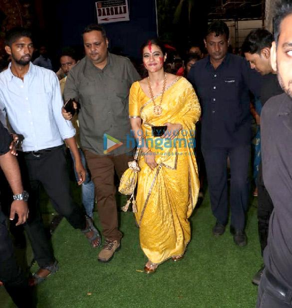 Photos Kajol, Rani Mukerji, Karan Johar and others snapped at Durga Puja (6)