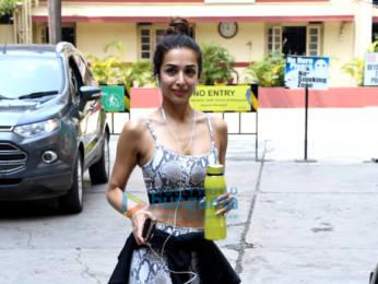Photos: Malaika Arora spotted at I Think Fitness