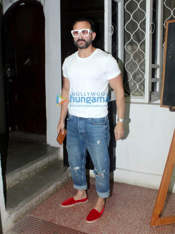 Photos: Saif Ali Khan spotted at Krome Studios in Bandra