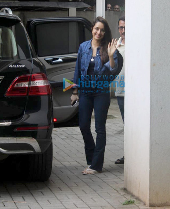 Photos Shraddha Kapoor spotted at Maddock Films' office (1)