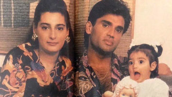 Post the song release, Athiya Shetty posts an adorable throwback picture with parents Suniel Shetty and Mana Shetty!