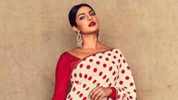Priyanka Chopra Jonas brings out the Desi Girl in her in a gorgeous Sabyasachi saree for The Sky Is Pink promotions