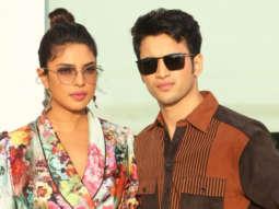 Priyanka Chopra & Rohit Saraf spotted promoting their movie The Sky Is Pink at Juhu