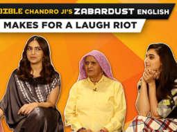 ROFL Taapsee Calls Bhumi 'BOMBAY BABE' Why She CRIED Saand Ki Aankh Chandro Prakashi