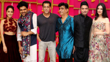 Salman Khan, Bhushan Kumar, Guru Randhawa & others at Krishan Kumar's Diwali Party