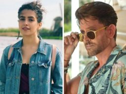 Sanya Malhotra grooves to the tunes of Hrithik Roshan's song Ghungroo from War (watch video)