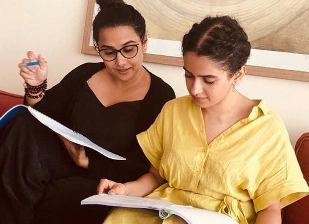 Sanya Malhotra recalls fangirling over her Shakuntala Devi co-star Vidya Balan