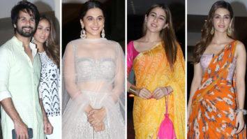Sara Ali Khan, Shahid Kapoor, Kriti Sanon, Varun Dhawan & others at Jackky Bhagnani Diwali Bash