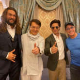 Shah Rukh Khan shares a frame with Jason Momoa, Jackie Chan, and Jean-Claude Van Damme in Saudi Arabia