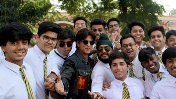 Shah Rukh Khan visits his alma mater St. Columba's in Delhi