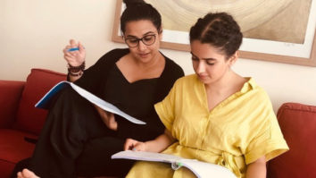 Shakuntala Devi: Vidya Balan and Sanya Malhotra bond over script as they gear up to play mother-daughter in the biopic
