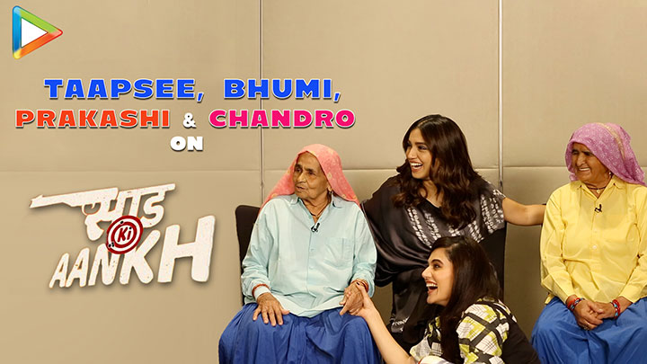 Taapsee & Bhumi On Chandro & Prakashi's INSPIRING Life & FUNNY Moment On Sets Saand Ki Aankh