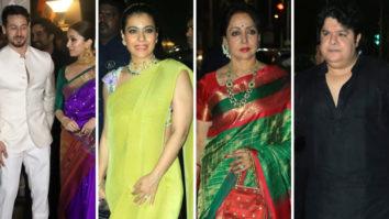 Tiger Shroff, Shraddha Kapoor, Kajol, Sajid Khan & others at Amitabh Bachchan's Grand Diwali Party