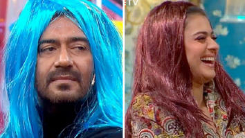 VIDEO: Ajay Devgn and Kajol wear colourful wigs on Maniesh Paul's show Movie Masti