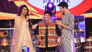 VIDEO: Priyanka Chopra dances to the tunes of 'Chogada' & 'Yaad Piya Ki Aane Lagi' with Falguni Pathak and Rohit Saraf