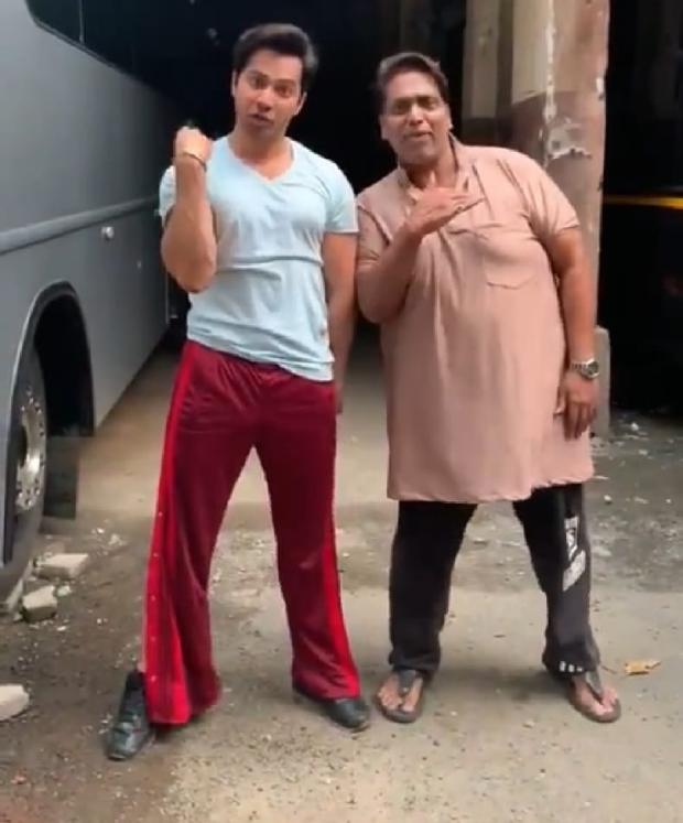 Varun Dhawan takes up Akshay Kumar's Bala Challenge with choreographer Ganesh Acharya