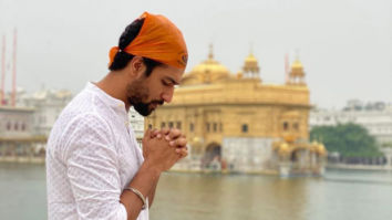 Vicky Kaushal seeks blessings at the Golden Temple in Amritsar before second schedule of Sardar Udham Singh