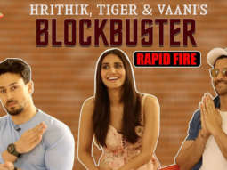 WAR Team Ka Paisa-Vasool Rapid Fire – Hrithik Roshan Tiger Shroff Vaani Kapoor Dhoom 4-012