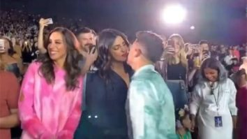 WATCH VIDEO: Nick Jonas kisses Priyanka Chopra during his Happiness Begins Tour
