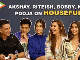 Will Housefull 4 be Akshay's BIGGEST hit Riteish, Kriti Sanon & Bobby RESPOND Pooja Kriti K