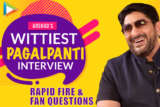 """""""Shah Rukh needs to STAY AWAY from…"""" Arshad's PAGALPANTI Interview Rapid Fire Fan Questions"""