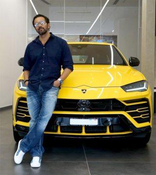 After Simmba star, Ranveer Singh director Rohit Shetty buys a bright yellow Lamborghini Urus worth Rs 3 crore