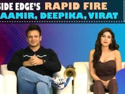 Angad, Vivek & Sapna's ZABARDUST rapid fire on SRK, Aamir, Deepika, Shahid, Virat, DhoniInside Edge