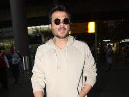 Anil Kapoor spotted at Airport, Mumbai