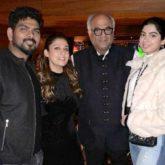 Boney Kapoor and Khushi Kapoor reunite in New York along with actress Nayanthara
