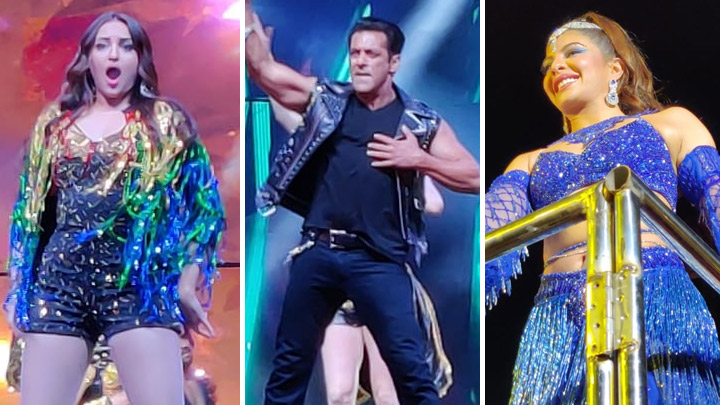 DABANGG Dhamaka Salman Khan, Jacqueline, Sonakshi & team ROCK DA-BANGG The Tour, Hyderabad