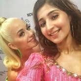 Dhvani Bhanushali shares stage with global icons Katy Perry and Dua Lipa!