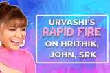Dinner date with SRK or Long drive with Hrithik Urvashi chooses… Rapid Fire John Pagalpanti